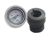 0-200 C Wht - Air  Engine Oil TempGauge 2007-16. all FLs